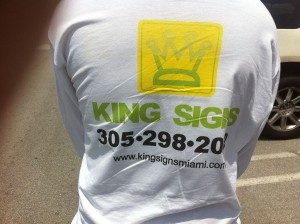 King Signs Miami has been serving the South Florida tri-county area for Over 20 Years