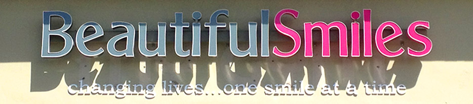 Beautiful Smile Signs by King Signs Miami