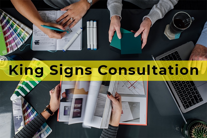 king Signs Consultation