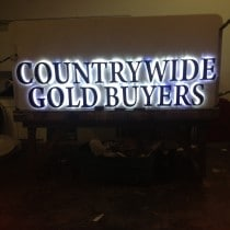 Reverse Channel Letters Signs and Back Lit Signs Miami